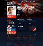 Politics Website  Template 45312