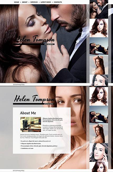 ADOBE Photoshop Template 45323 Home Page Screenshot