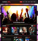Night Club Joomla  Template 45332