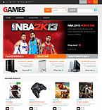 Games PrestaShop Template 45347