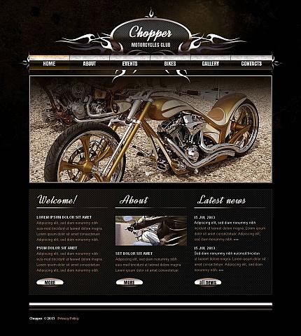ADOBE Photoshop Template 45350 Home Page Screenshot