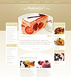 Food & Drink Moto CMS HTML  Template 45351