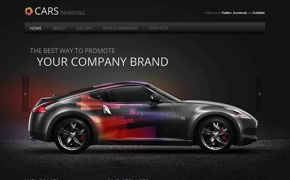 Luxusní Moto CMS HTML šablona na téma Seřizování automobilů New Screenshots BIG