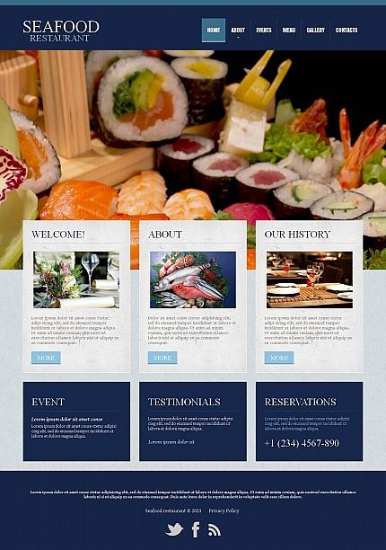 ADOBE Photoshop Template 45356 Home Page Screenshot