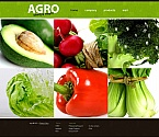 Agriculture Moto CMS HTML  Template 45359