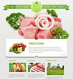 Agriculture Moto CMS HTML  Template 45365