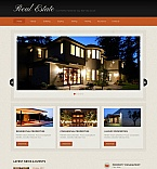 Real Estate Moto CMS HTML  Template 45367