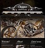 Cars Facebook HTML CMS  Template 45370