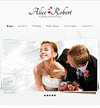 Wedding Facebook HTML CMS  Template 45371