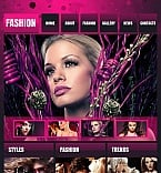 Fashion Facebook HTML CMS  Template 45379