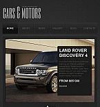 Cars Facebook HTML CMS  Template 45381