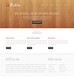 Web design Drupal  Template 45394