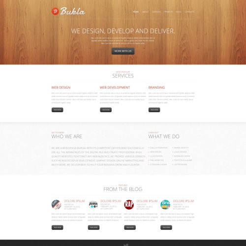 Bukla - HTML5 Drupal Studio Template