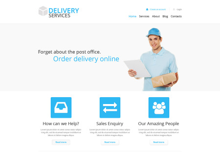 Delivery Services Responsive