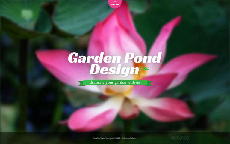Garden Design Website Template New Screenshots BIG