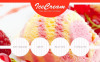 Ice Cream Facebook HTML CMS Template New Screenshots BIG