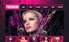 Luxusní Moto CMS HTML šablona na téma Módní blog New Screenshots BIG
