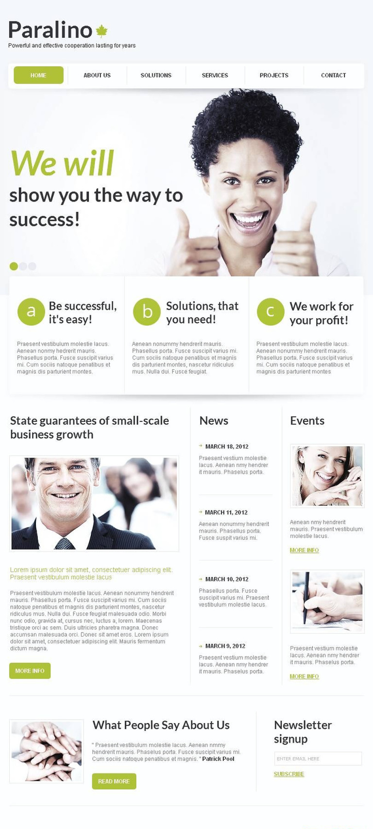 Marketing Agency Facebook HTML CMS Template New Screenshots BIG
