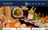 Modèle Moto CMS HTML  pour restaurant de fruits de mer New Screenshots BIG