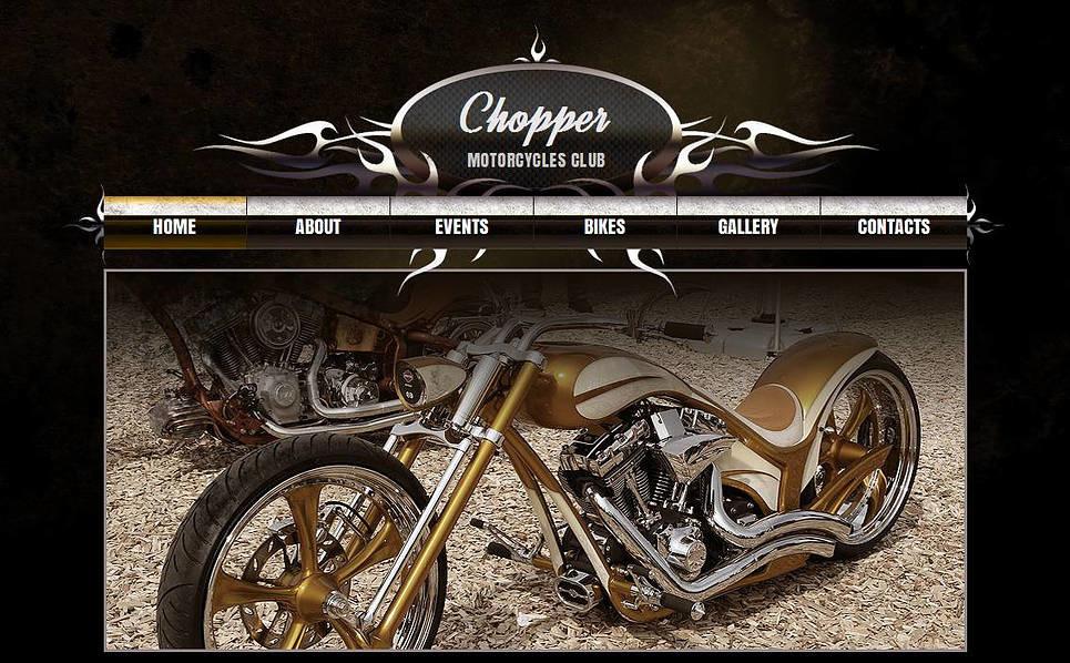 MotoCMS HTML шаблон №45350 на тему мотоклуб New Screenshots BIG