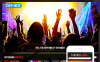 """Night Club"" Responsive Joomla Template New Screenshots BIG"