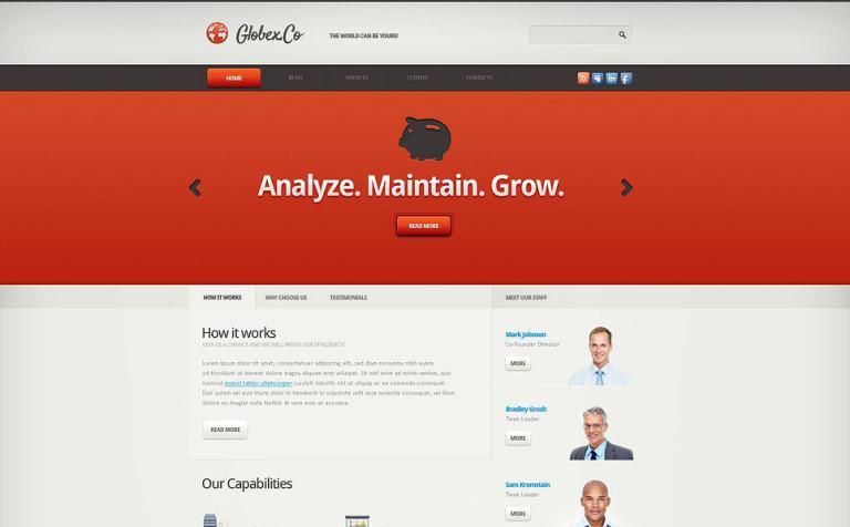 Piggy Marketing Agency Joomla Template