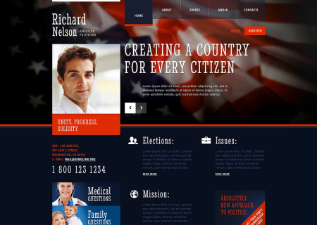 Political Candidate Responsive