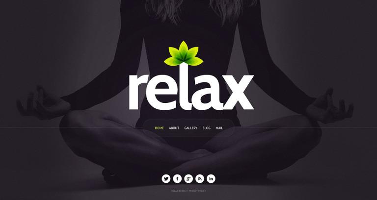 Yoga Website Template New Screenshots BIG