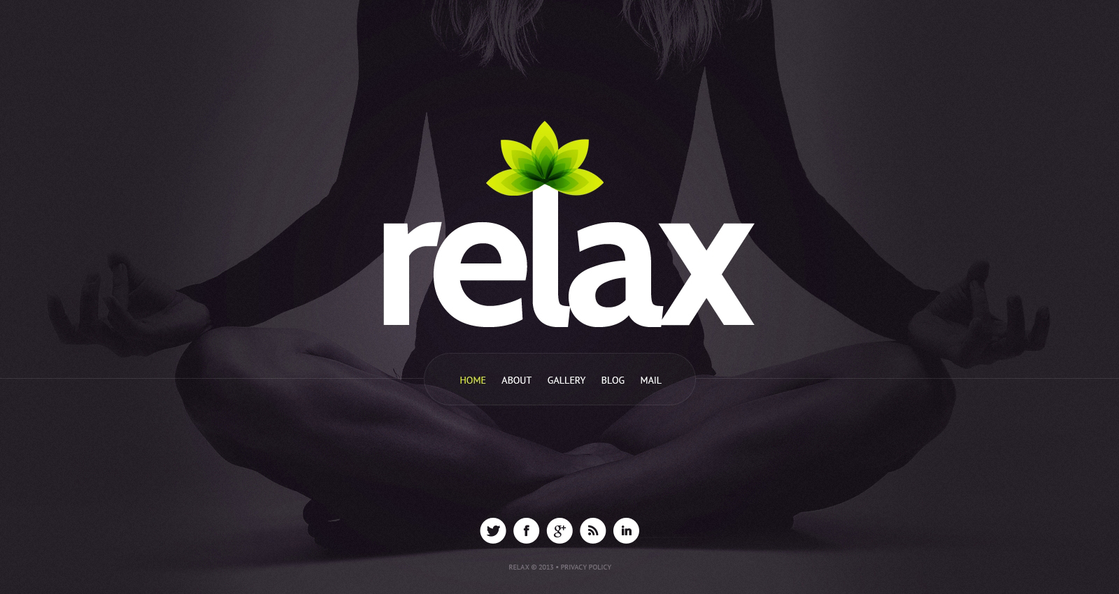 15+ Best Yoga Website Templates