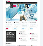 Communications Website  Template 45407