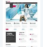 Communications Website  Template 45407