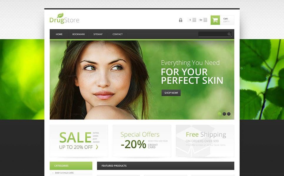 Responsive PrestaShop Thema over Apotheek New Screenshots BIG
