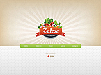 Food & Drink Website  Template 45432