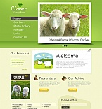 Agriculture Moto CMS HTML  Template 45445