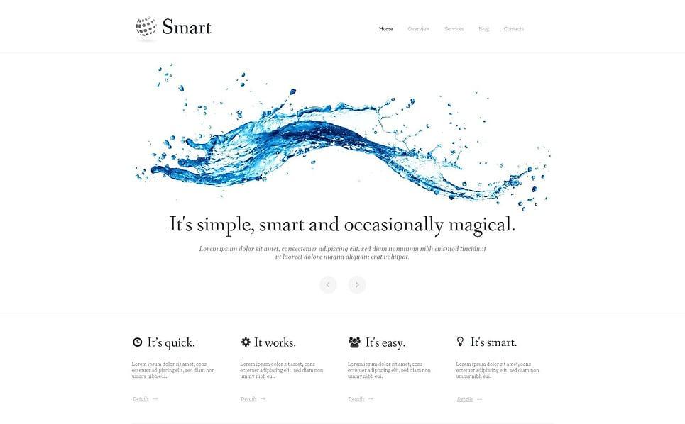 MotoCMS HTML шаблон на тему інвестиції New Screenshots BIG