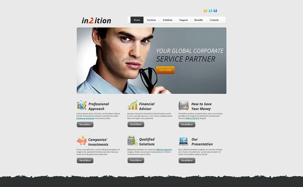 Moto CMS HTML Vorlage für Dienstleistungen-für-Händler  New Screenshots BIG