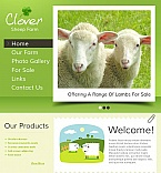Agriculture Facebook HTML CMS  Template 45464