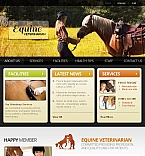 Animals & Pets Facebook HTML CMS  Template 45471