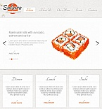Cafe & Restaurant Facebook HTML CMS  Template 45472