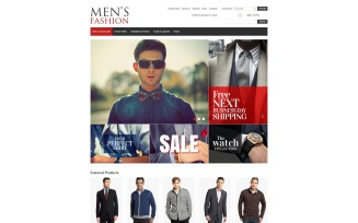 Men's Fashion VirtueMart Template