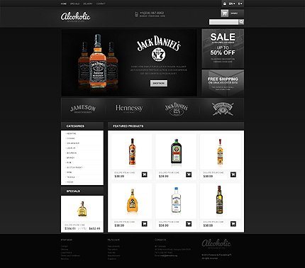 ADOBE Photoshop Template 45482 Home Page Screenshot