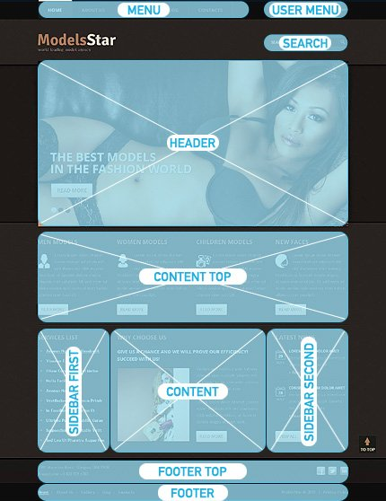Drupal Template 45484 Main Page Screenshot