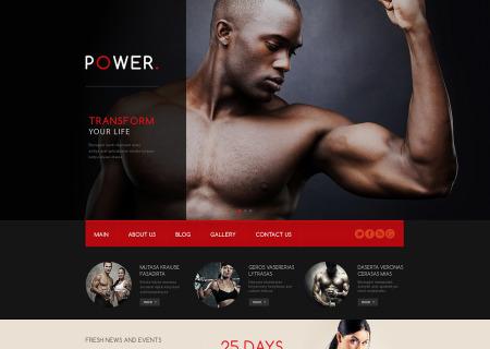Bodybuilding Responsive