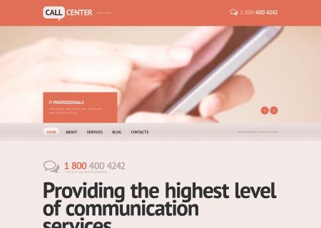 Call Center Responsive