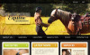 Horse Facebook HTML CMS Template New Screenshots BIG