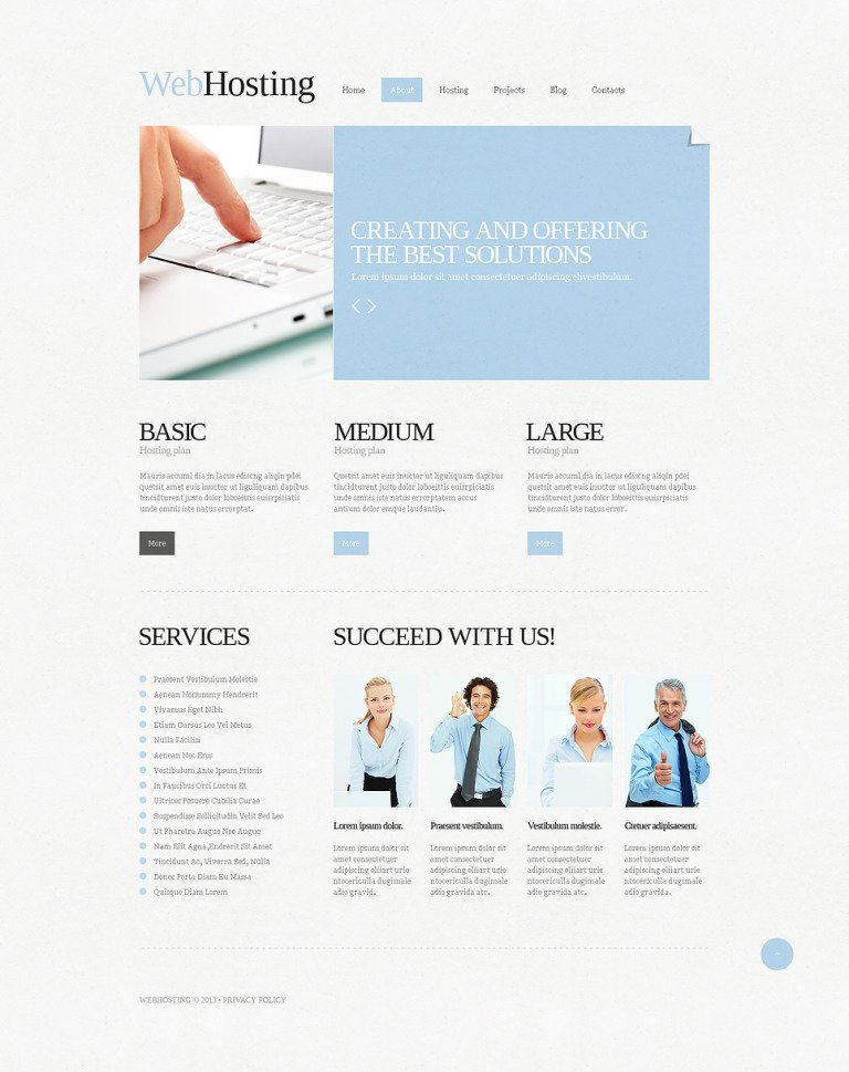 Hosting Responsive Joomla Template New Screenshots BIG