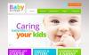Modèle Moto CMS HTML  pour site de babysitteur New Screenshots BIG