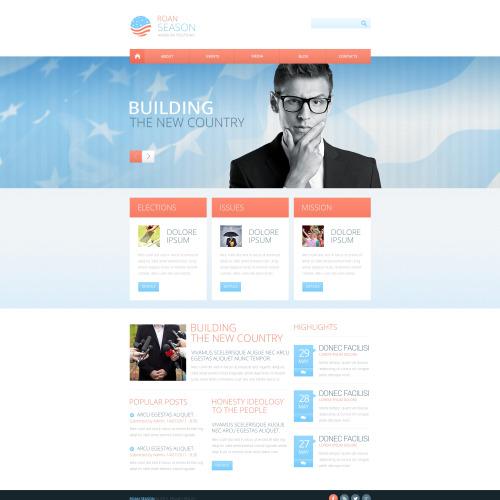 Roan Season - Responsive Website Template