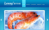 Premium Moto CMS HTML Template over Bevroren voedsel  New Screenshots BIG