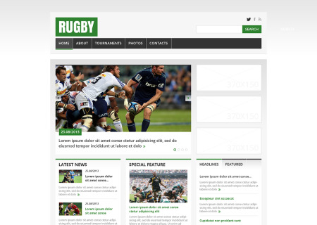 Rugby Responsive